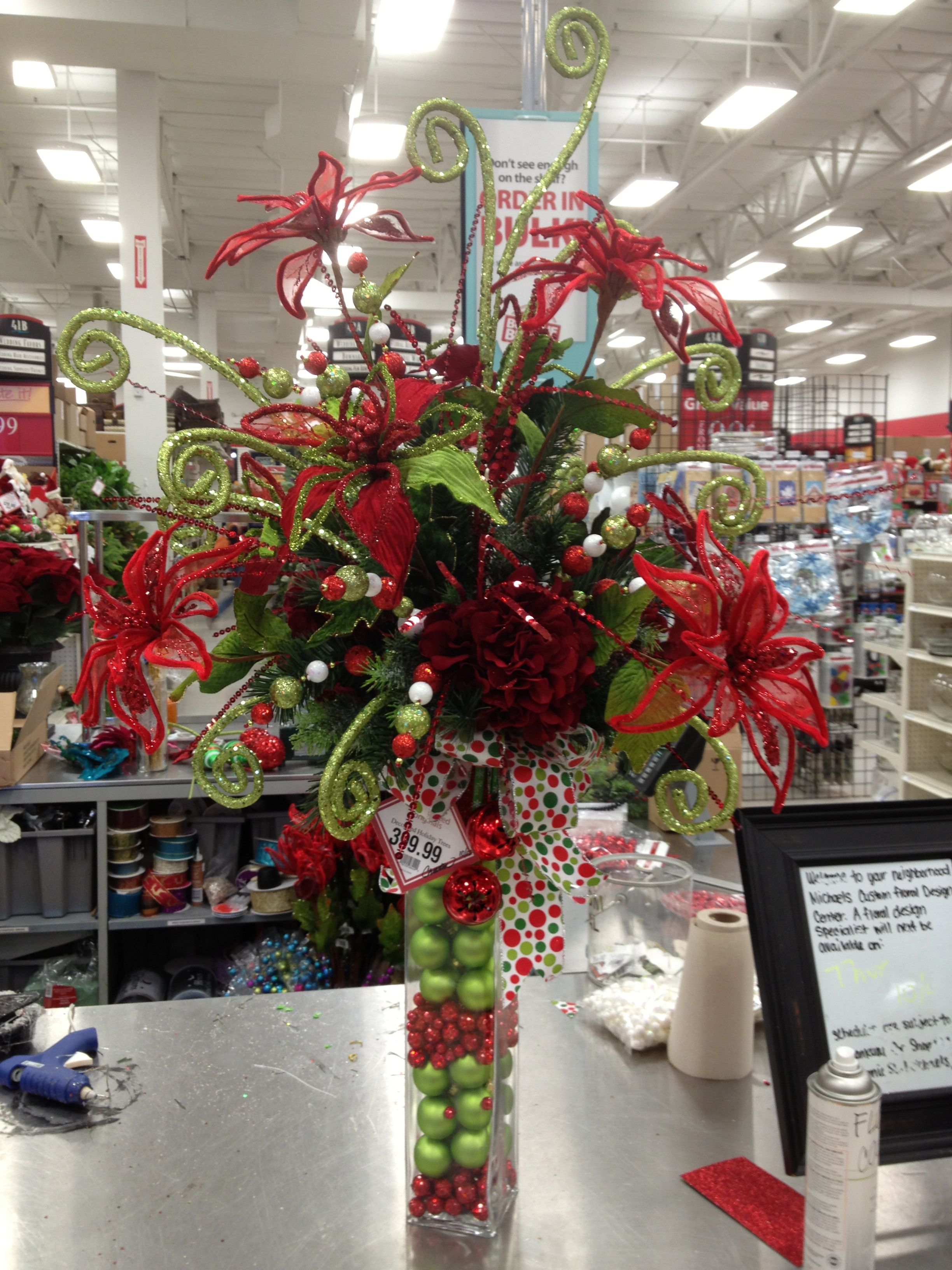Pin by Christian Rebollo on My Christmas Floral Designs Michaels
