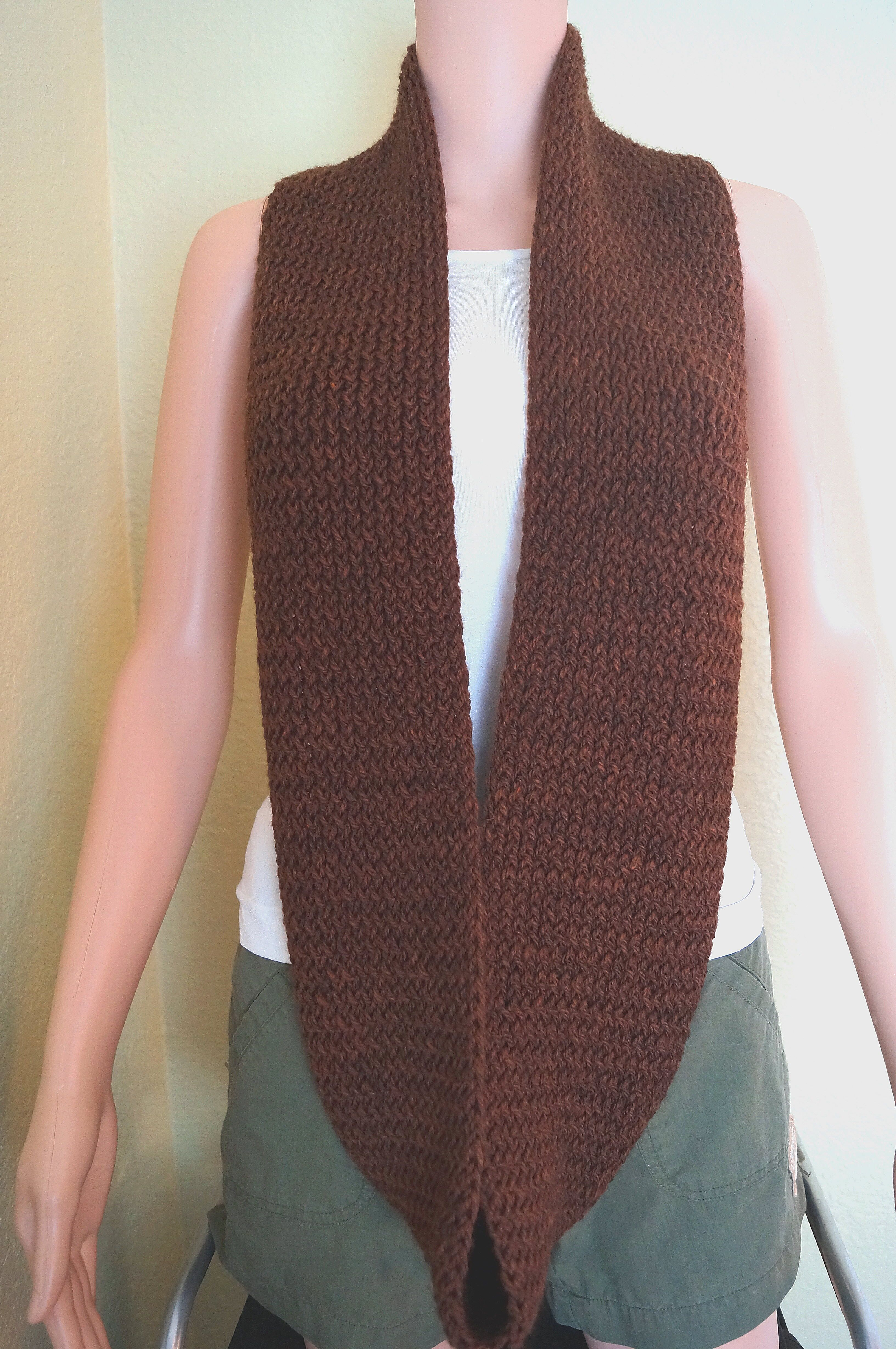 Infinity Scarf Loom Knitting Pattern For Beginners : Loom Knit Infinity Scarf Its A Family Affair Designs ...