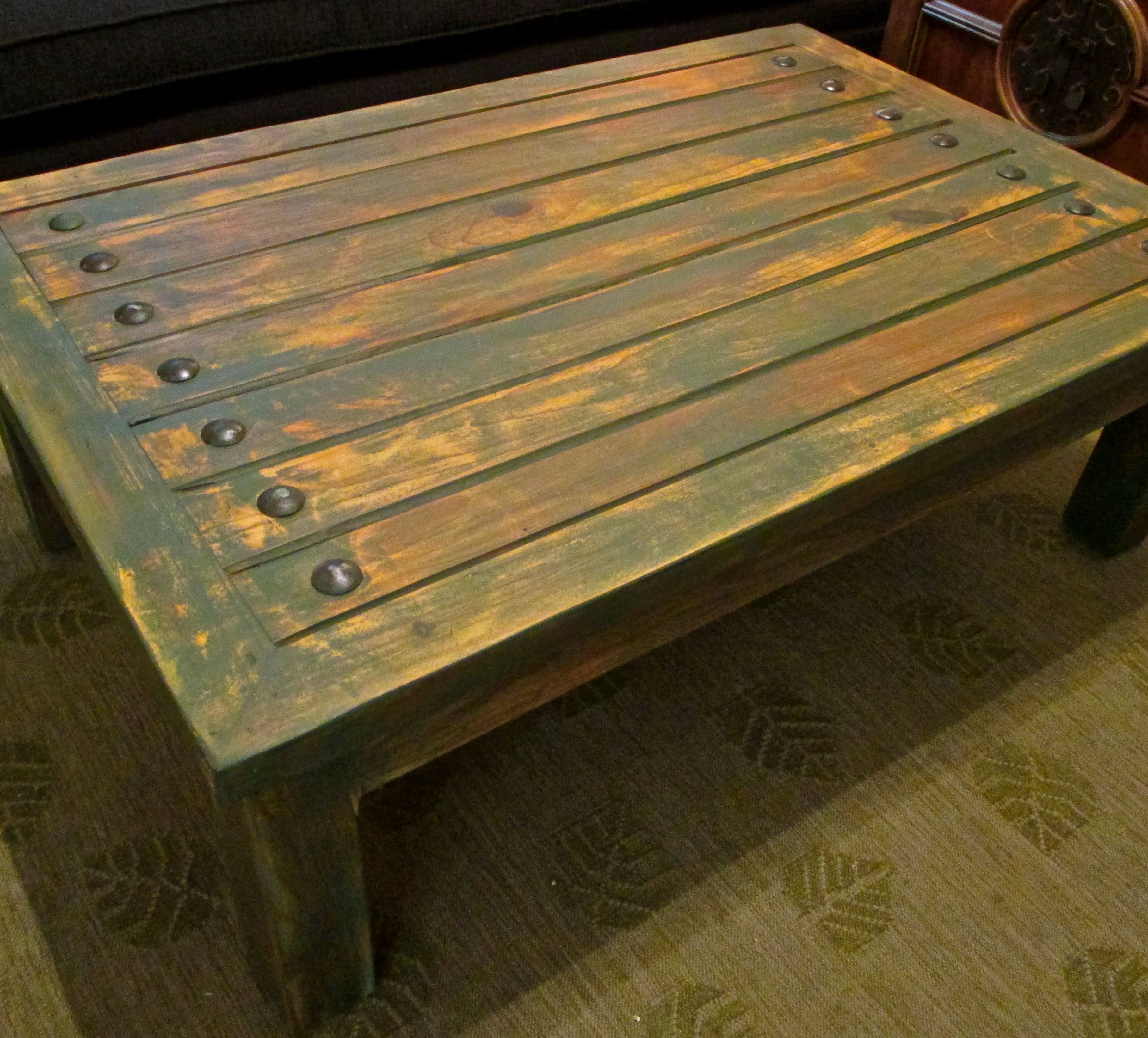 Rustic Mexican Coffee Table Alucina Furnishings Pinterest