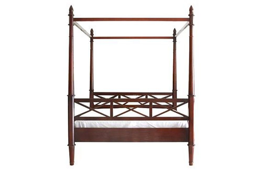 Flamant interiors bed | colonial style | Pinterest