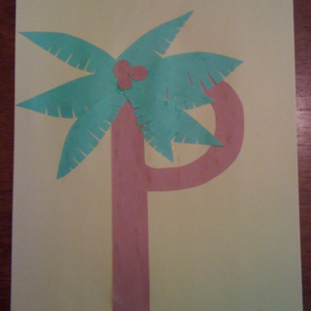 Letter of the week p proverbs 31 woman for Letter p preschool crafts