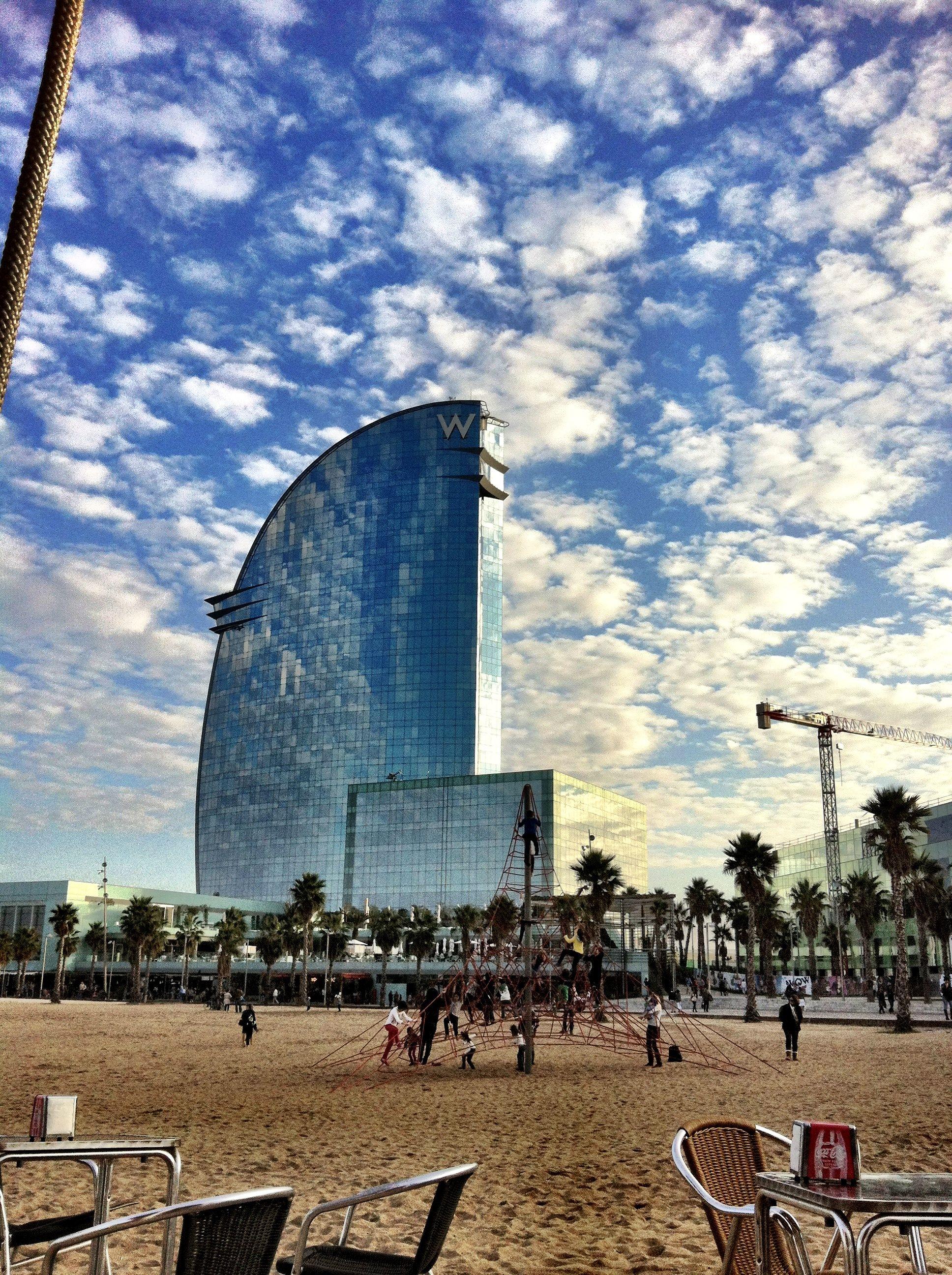 The W Hotel in Barcelona by Ricardo Bofill, w hotel spanish architect ...