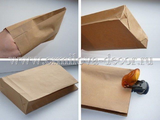 Сделай сам красивый пакетик из бумаги