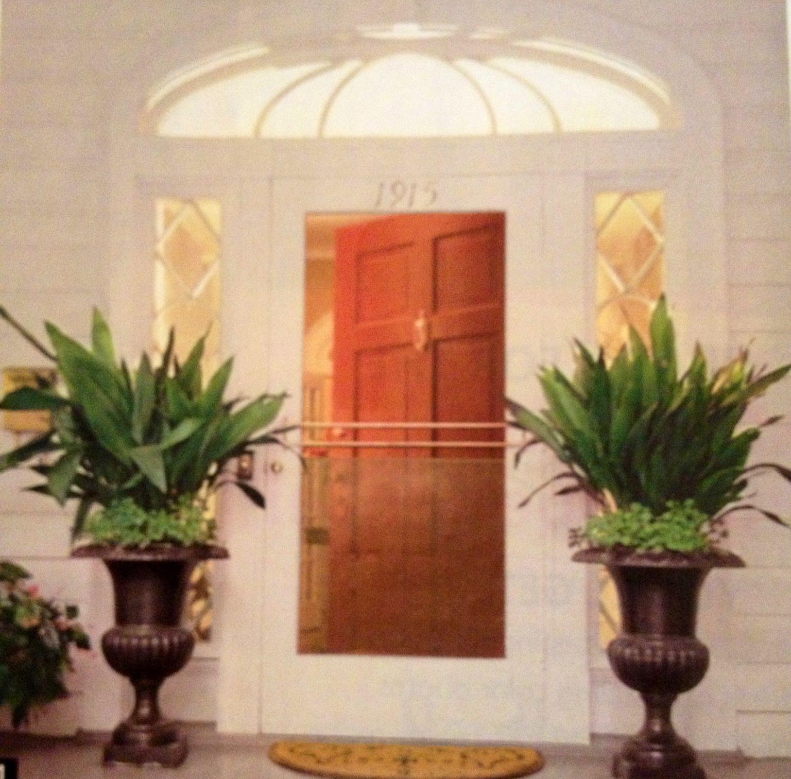 Easy Front Door Planter Idea Home Sweet Home Pinterest