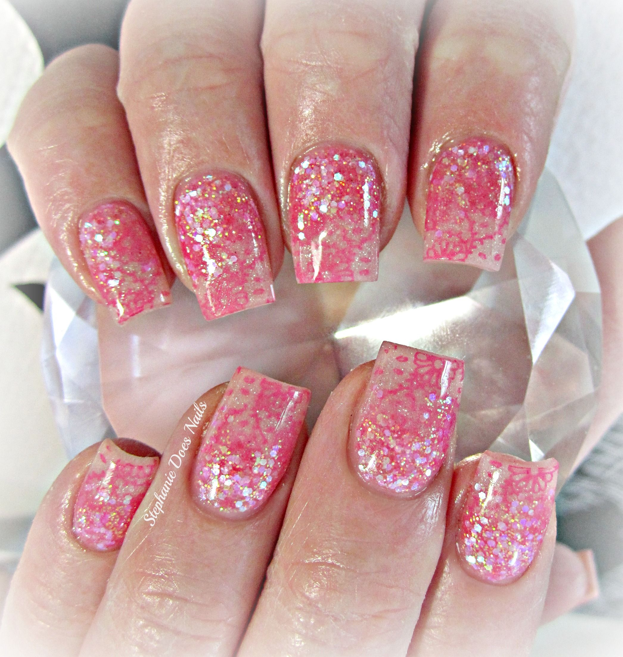 light pink nails - HD 2091×2203