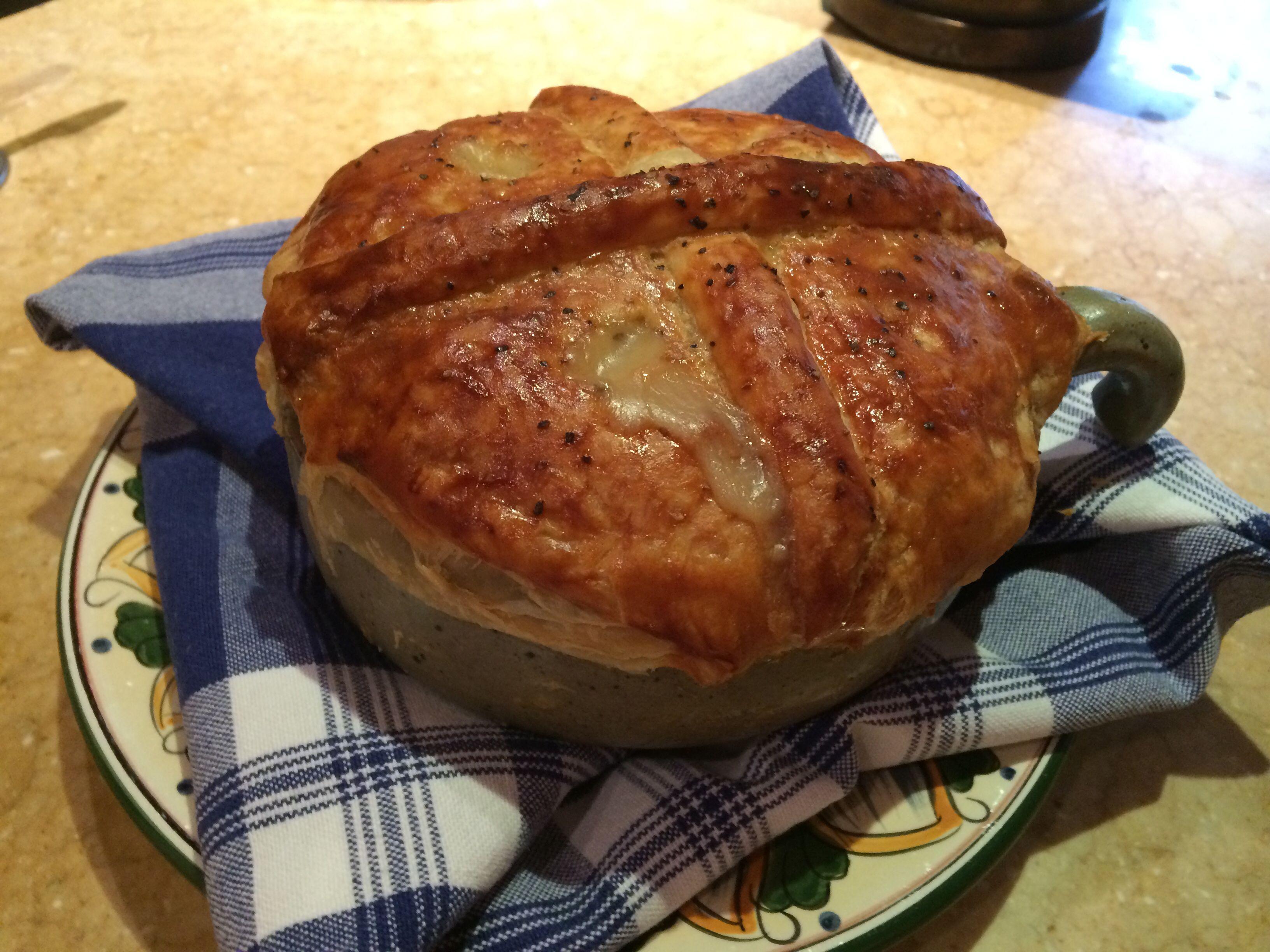 Summer Chicken Pot Pie Recipe — Dishmaps