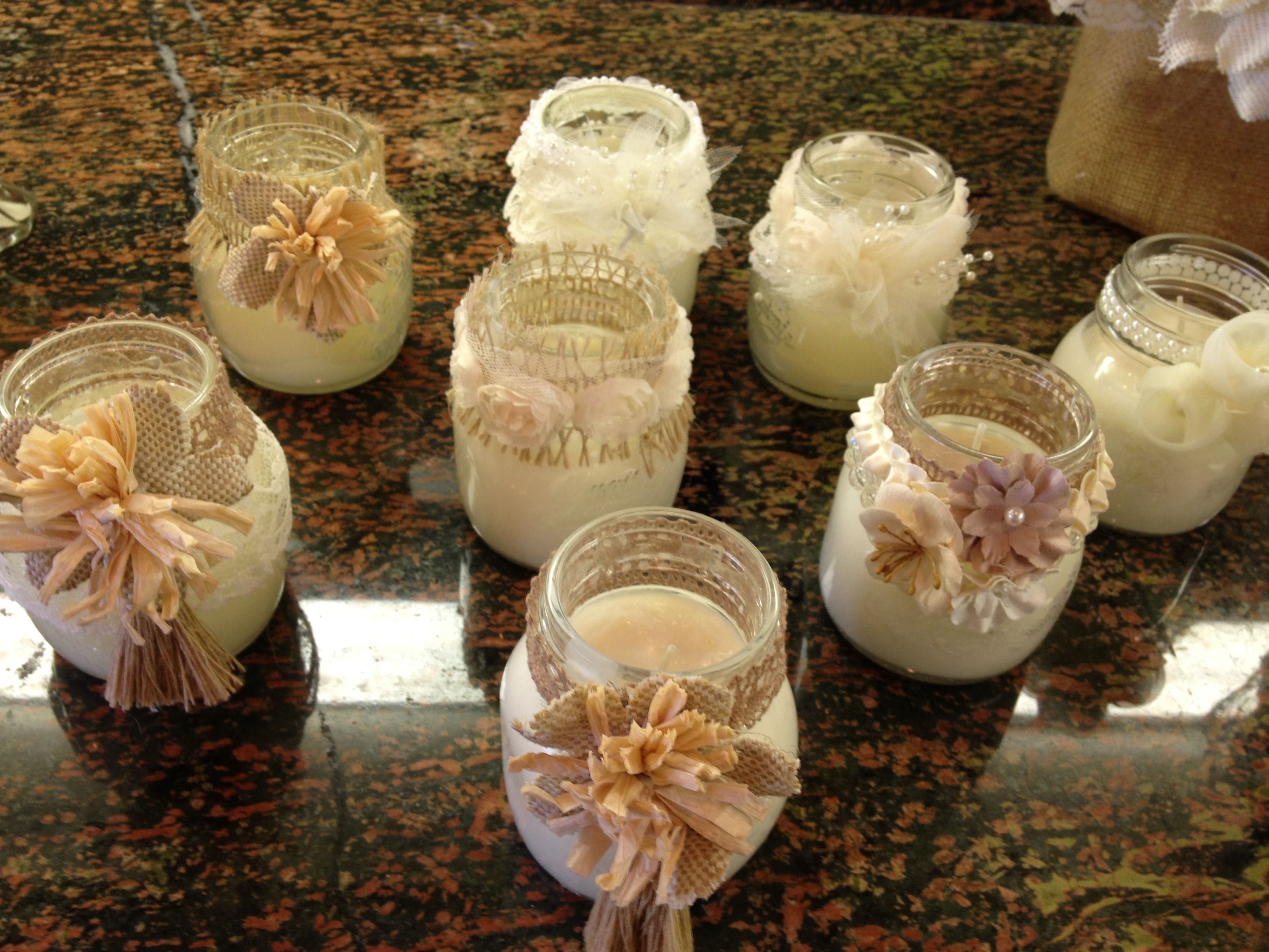 Mason jar candles craft ideas pinterest for Candle craft ideas