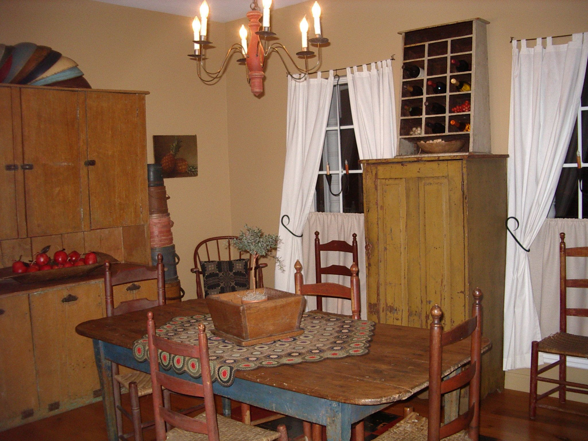 Dining Room Country Style Decorating Pinterest