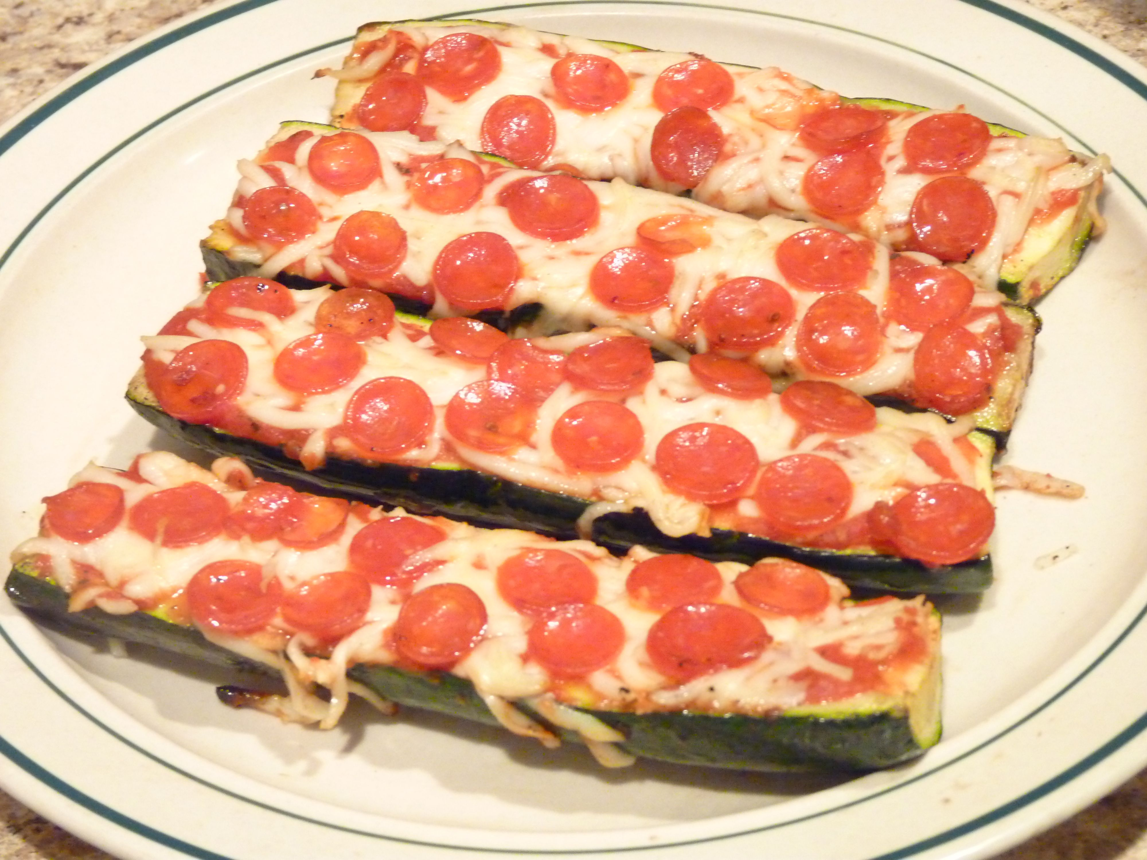 Zucchini Pizza | Recipes | Pinterest