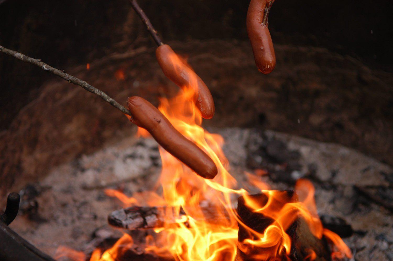 Campfire Hot Dog Sticks