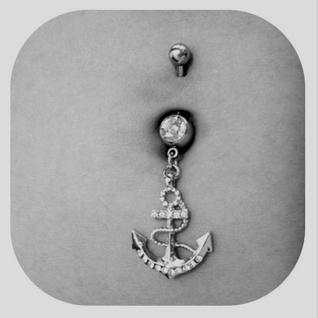 belly button ring porn