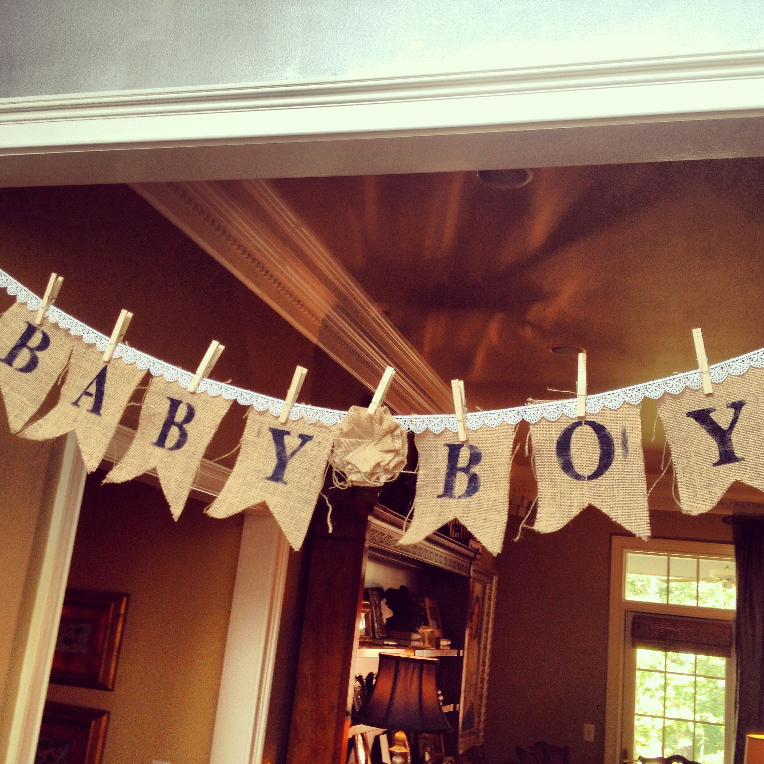 rustic woodland bird baby shower bunting and banners pinterest