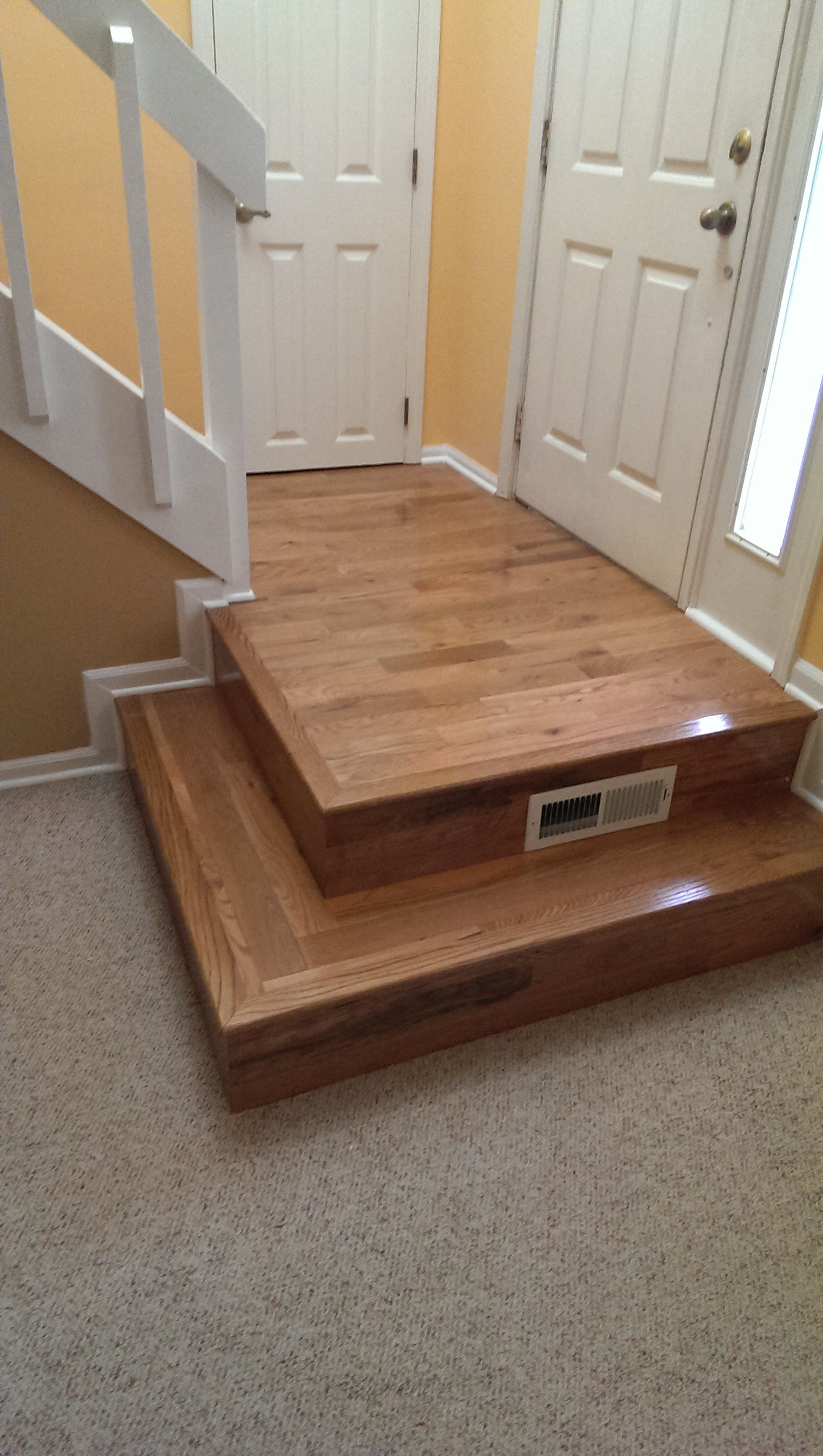 Pinterest discover and save creative ideas for Hardwood floors upstairs
