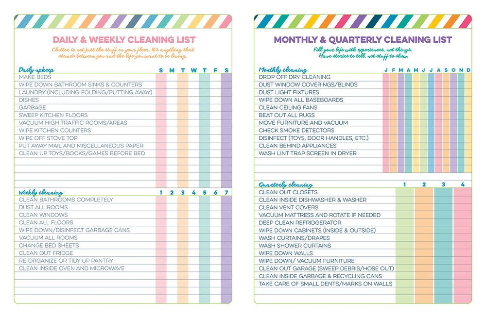 Daily Weekly Monthly Planner – My Blog