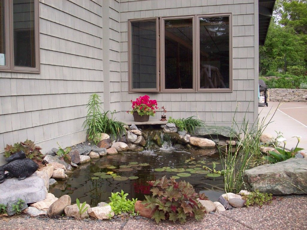 nice small garden pond green thumb pinterest