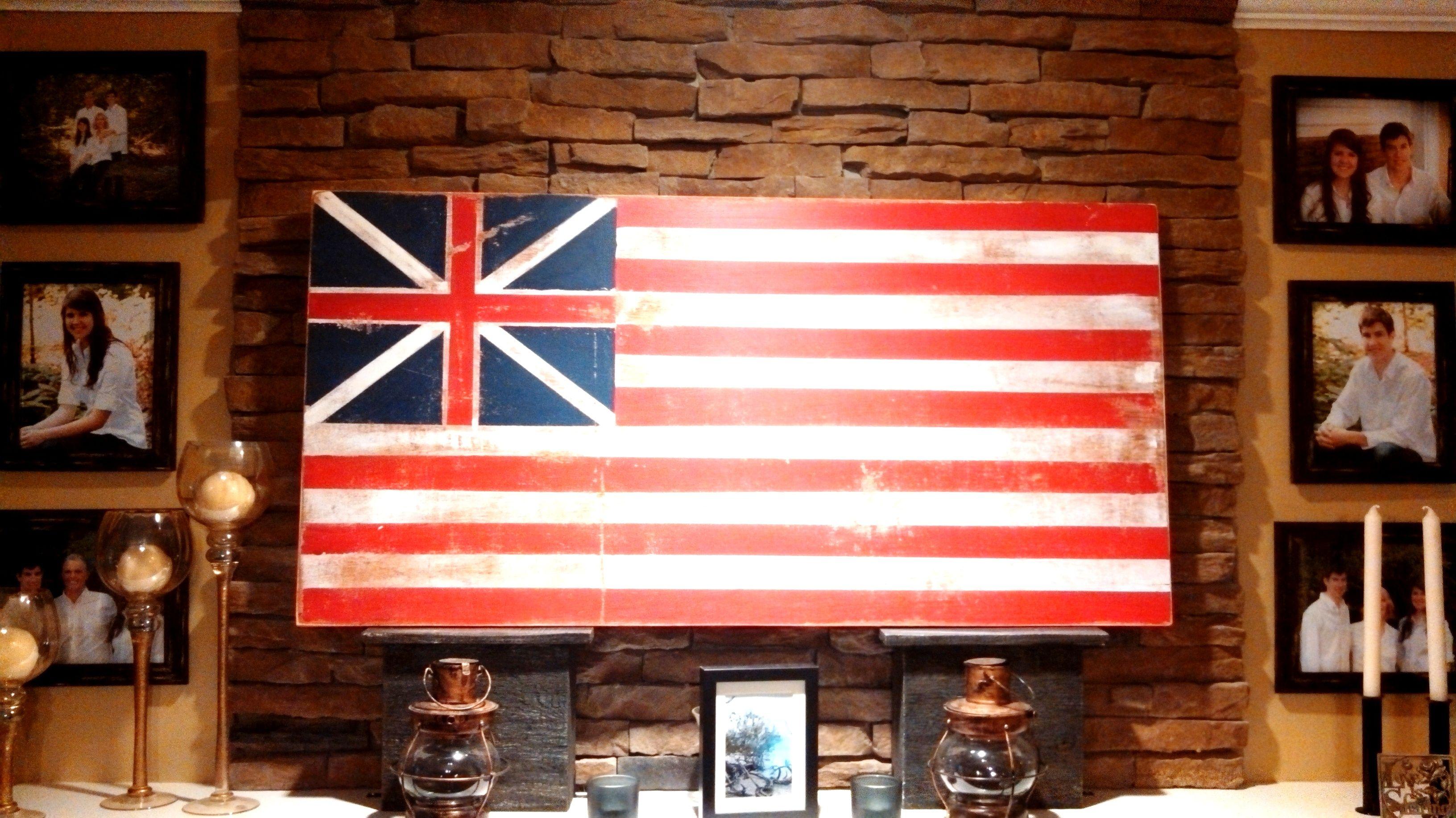 continental congress flag