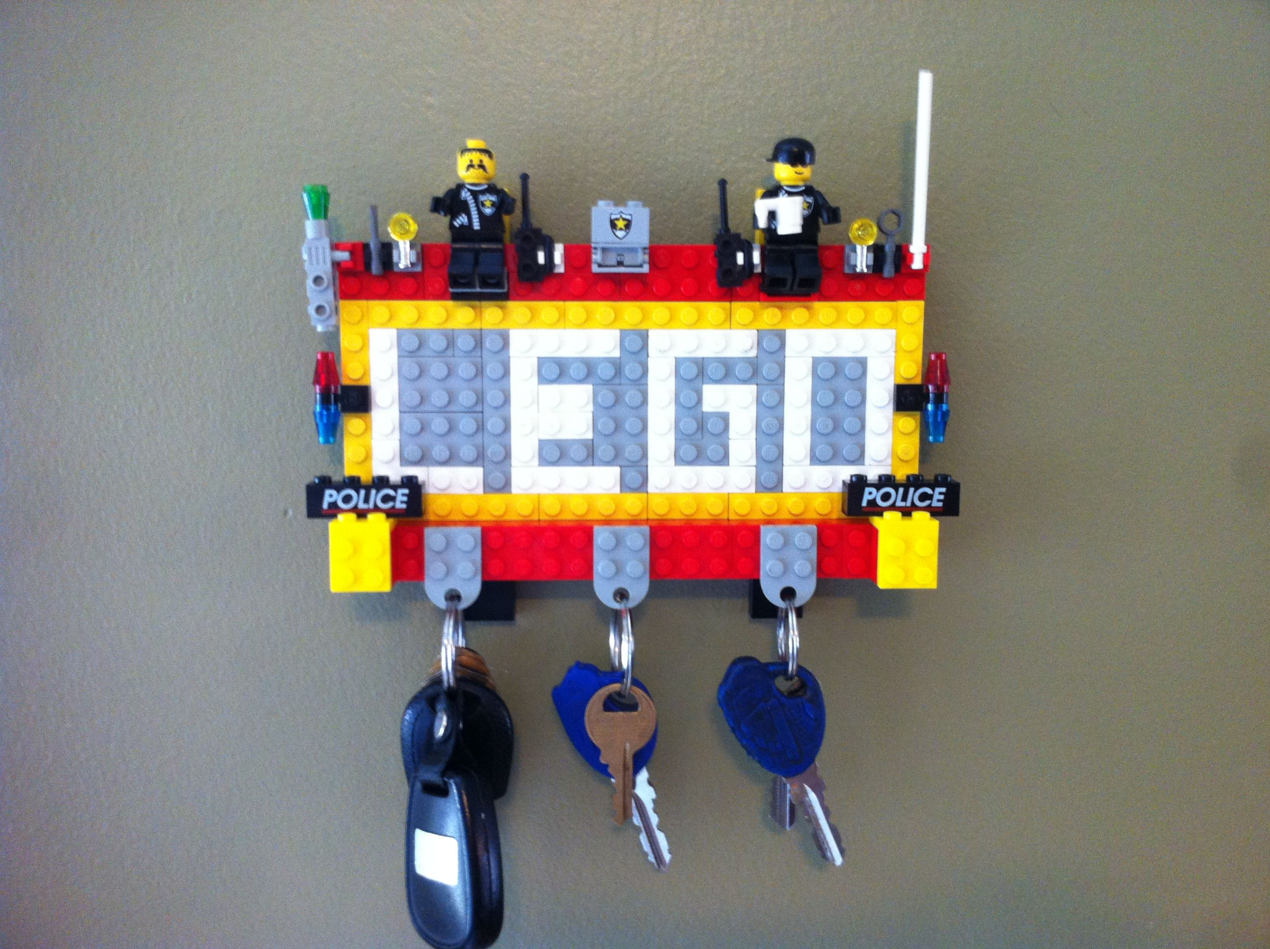 My Lego Key Holder Legos D Pinterest