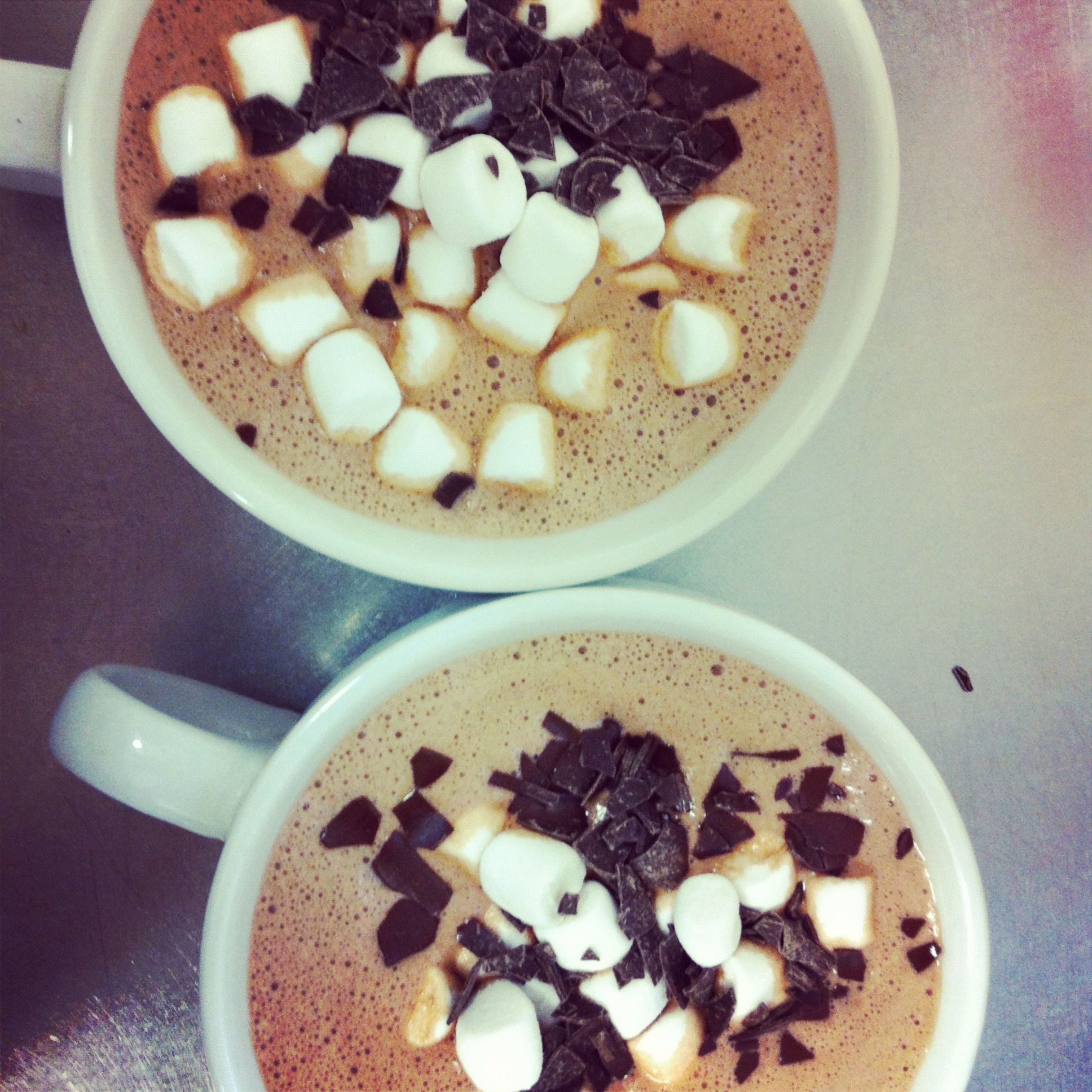 double hot chocolate, made for 2 xo | EAT | Pinterest