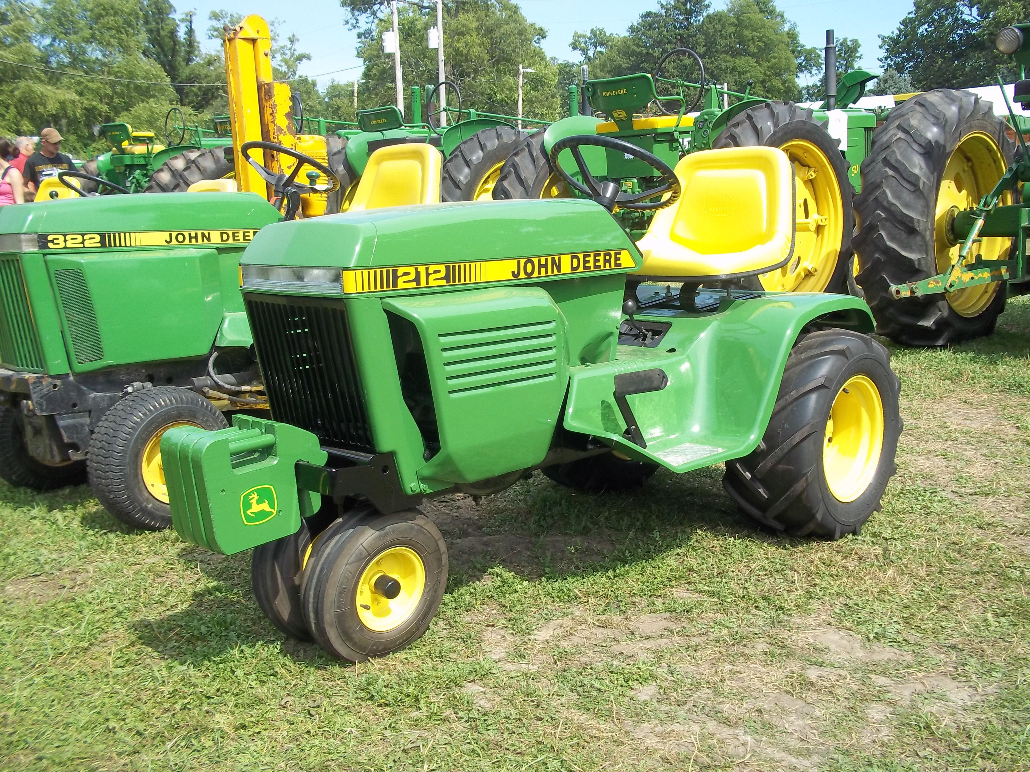 what is the best john deere garden tractor 214