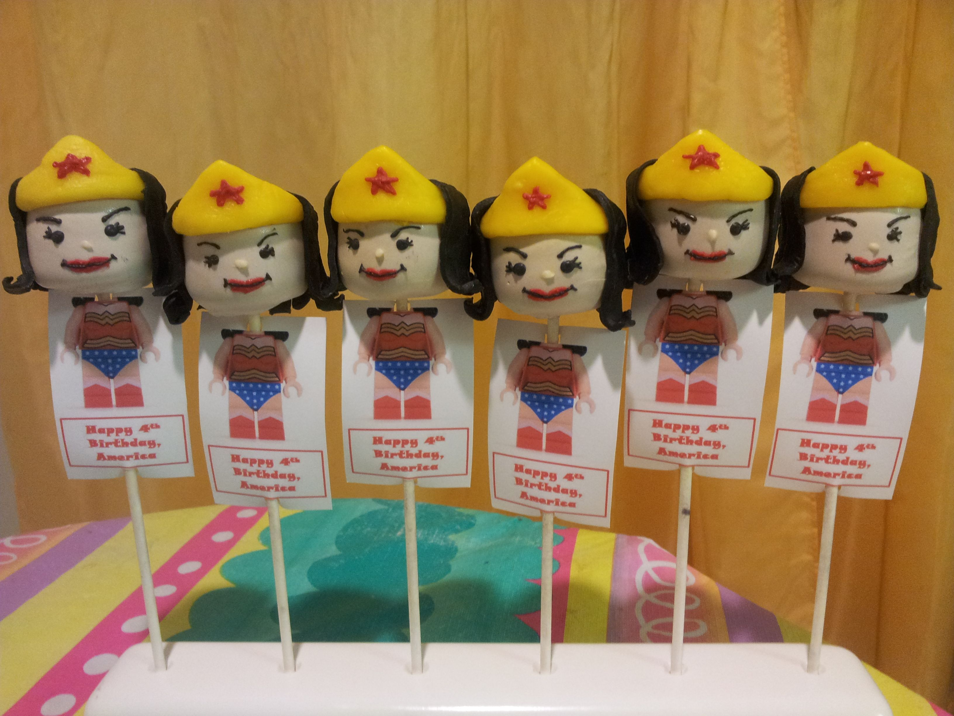 Wonder Woman 0 Cake Ideas and Designs