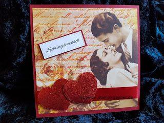 Lieblingsmensch La Blanche Valentinstag Karte von Silvi Stampin ...