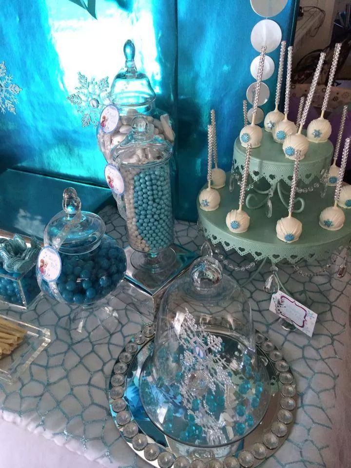 Frozen Birthday Party Party Themes Decorations Pinterest