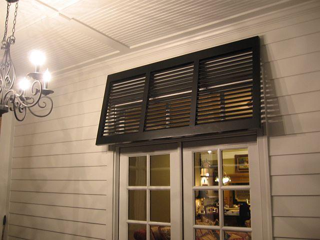 Sunbelt shutters bahama awning bahama shutter ideas for Beachy exterior shutters