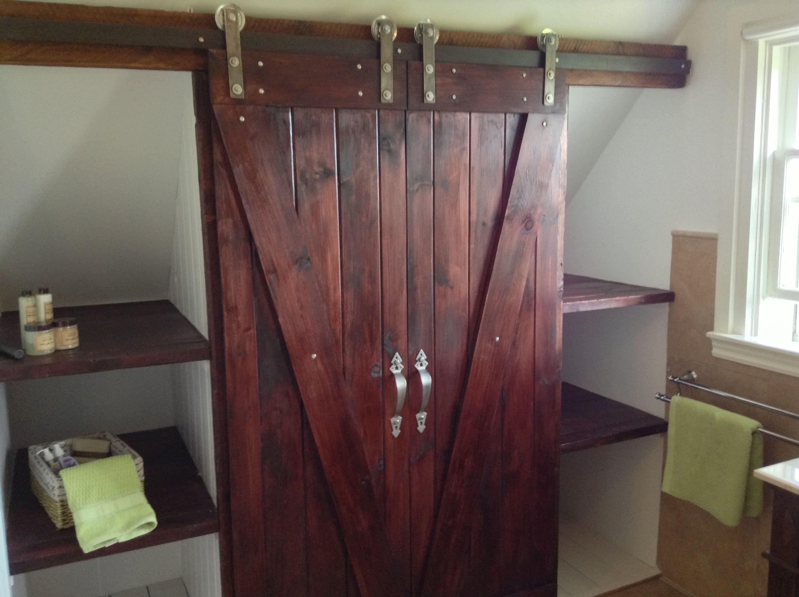 barn door closet  Coo  Pinterest