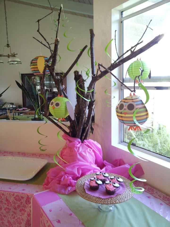 owl lantern centerpiece baby shower baby shower ideas pinterest
