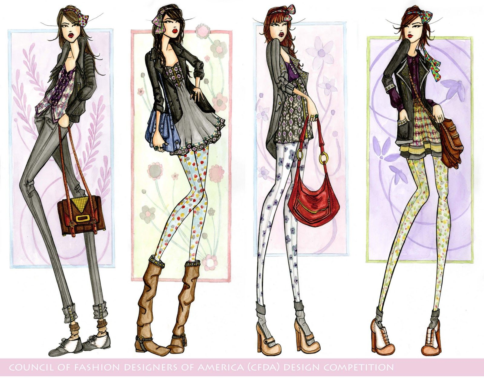 10 Tips To A Great Fashion Portfolio Searching For Style 33