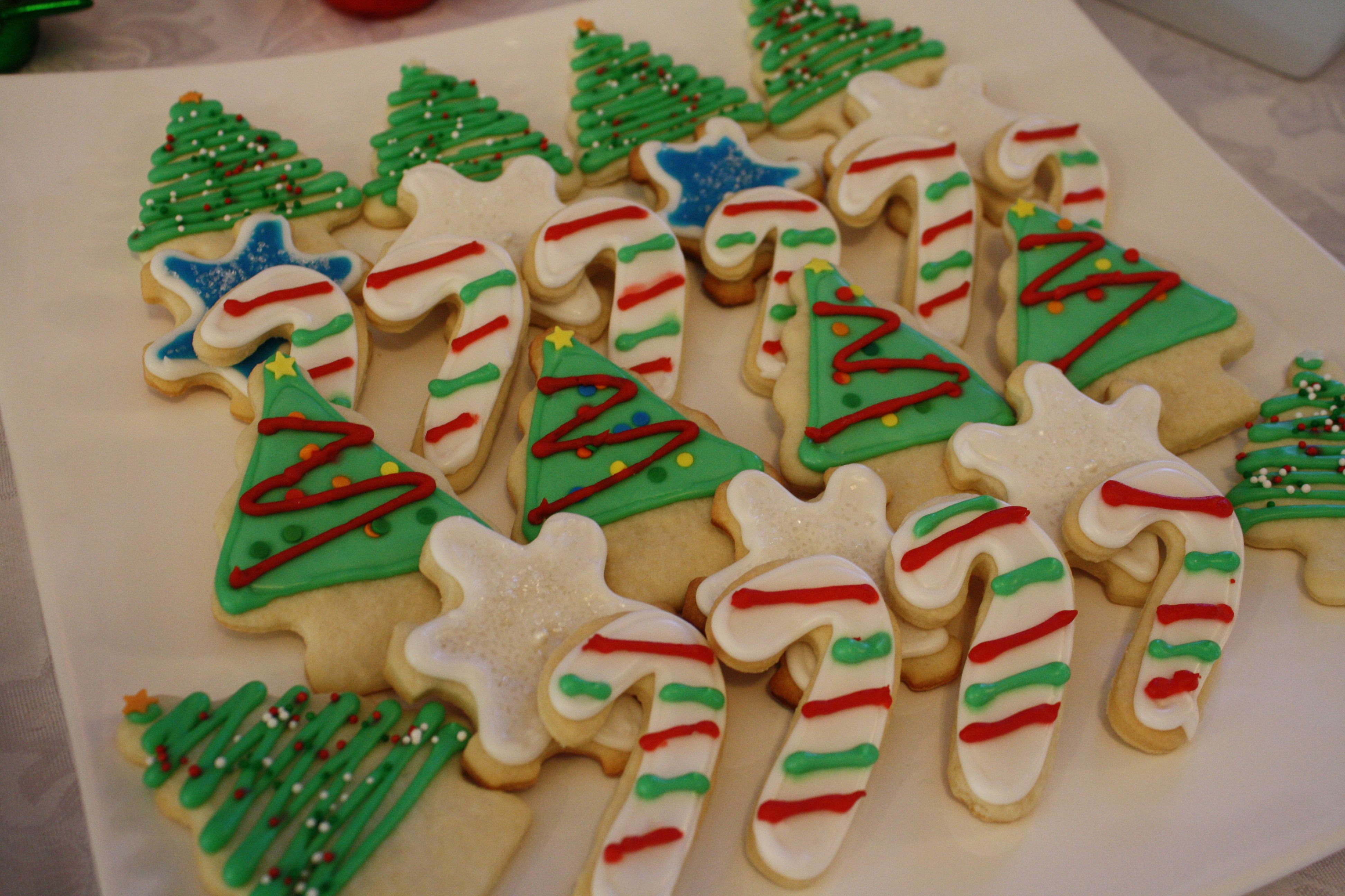 Christmas sugar cookies | Crafty Recipes | Pinterest