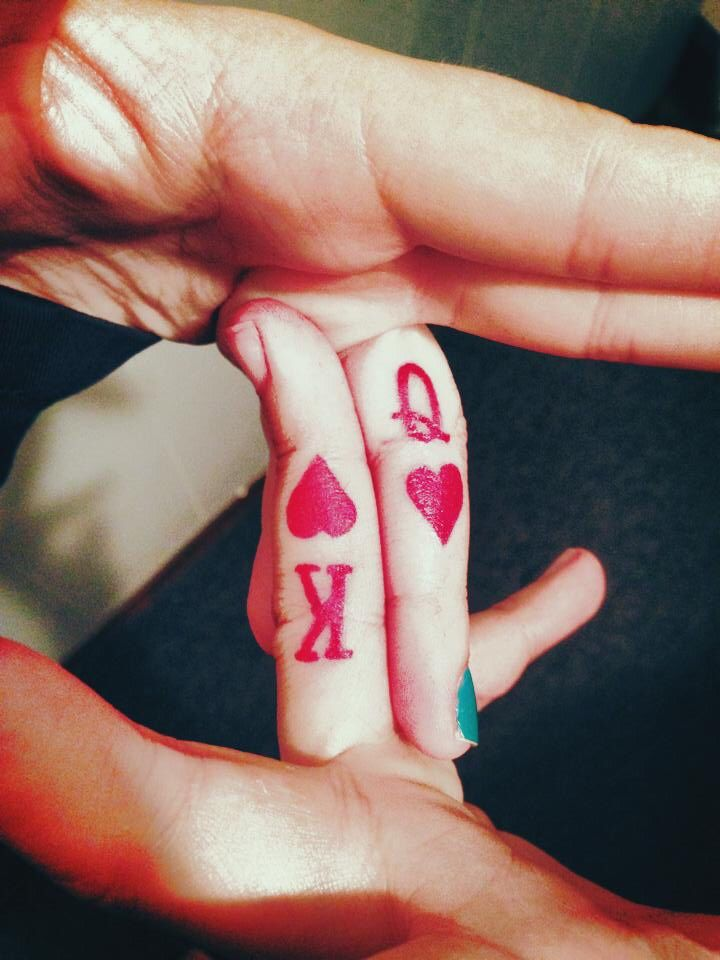 Matching tattoo king and queen | Tattoos | Pinterest