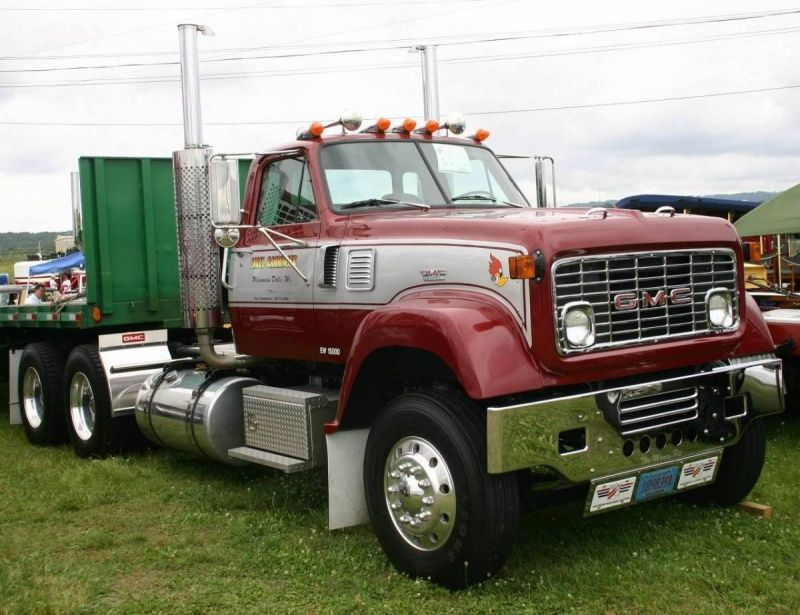 70s gmc semi big trucks and trailers pinterest. Black Bedroom Furniture Sets. Home Design Ideas