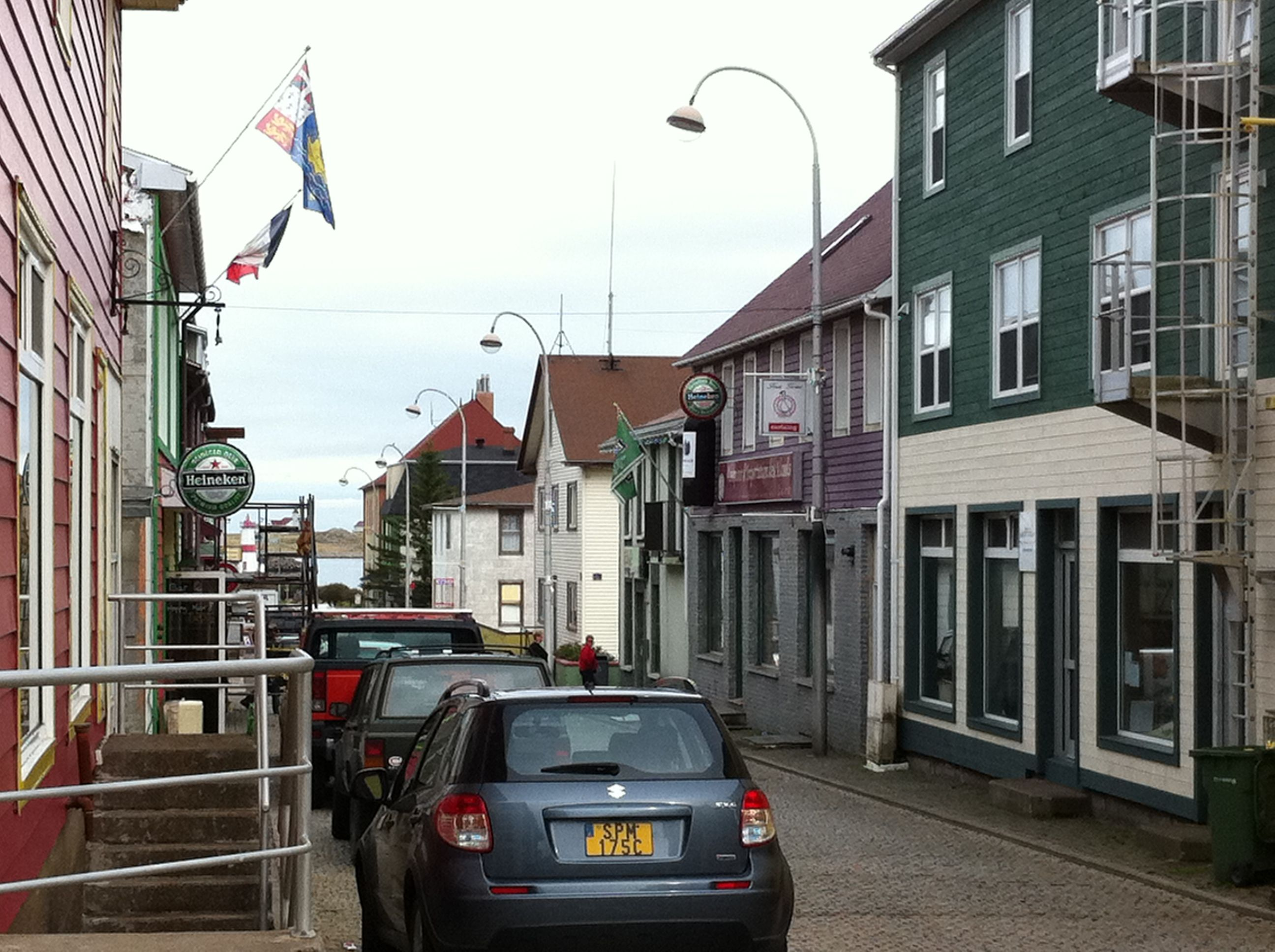 how to go to saint pierre and miquelon