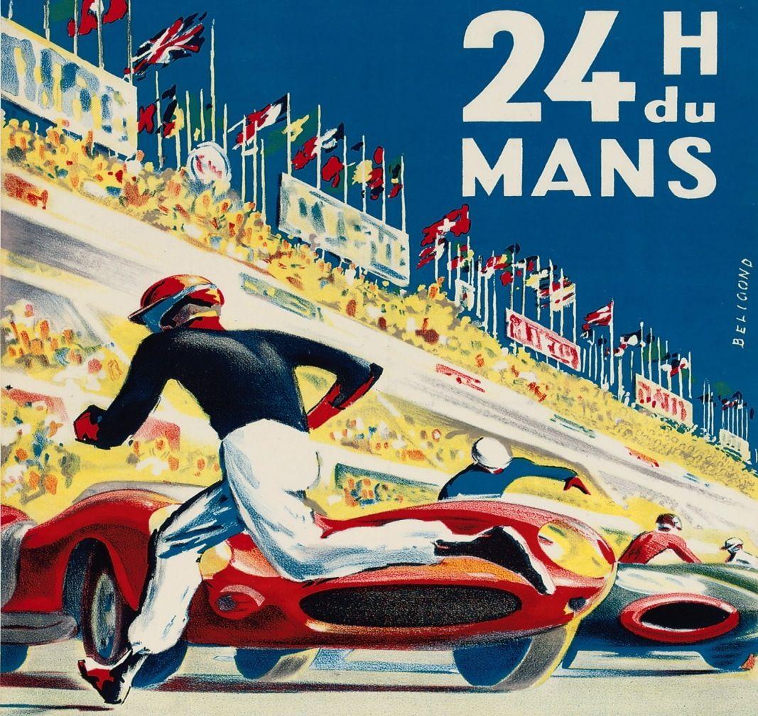 Racing vintage posters pinterest - Boutique 24h du mans ...