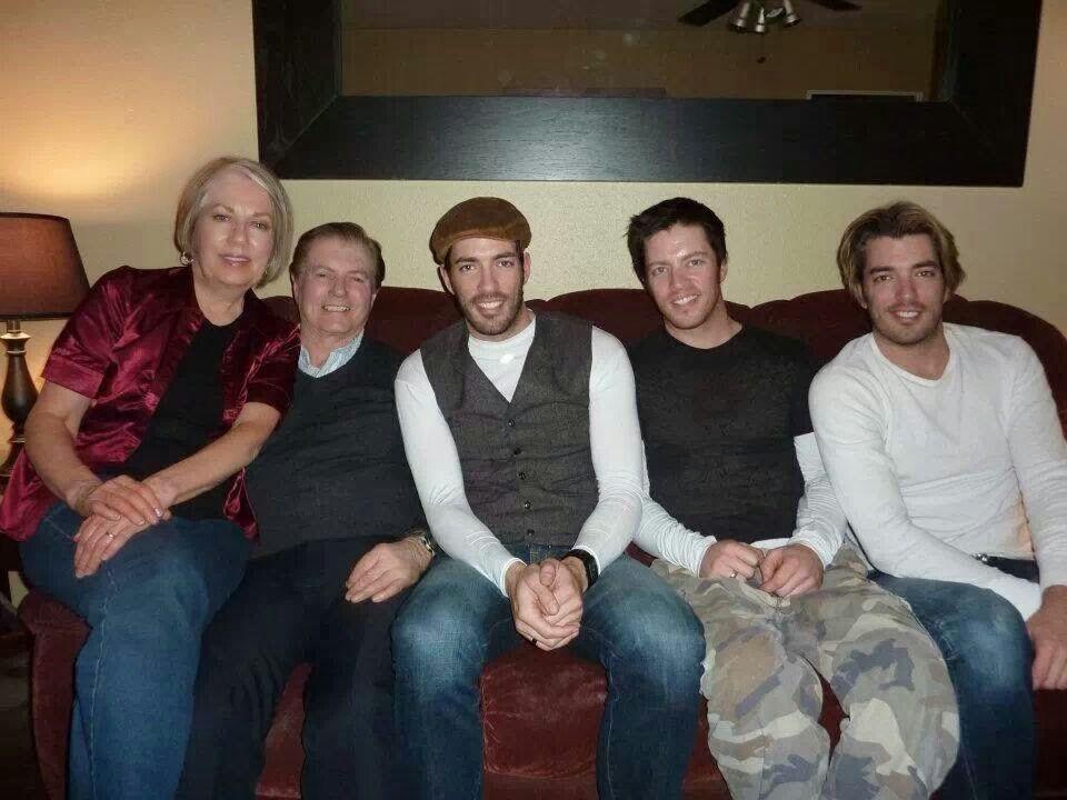 Jonathan and Drew Scott Family