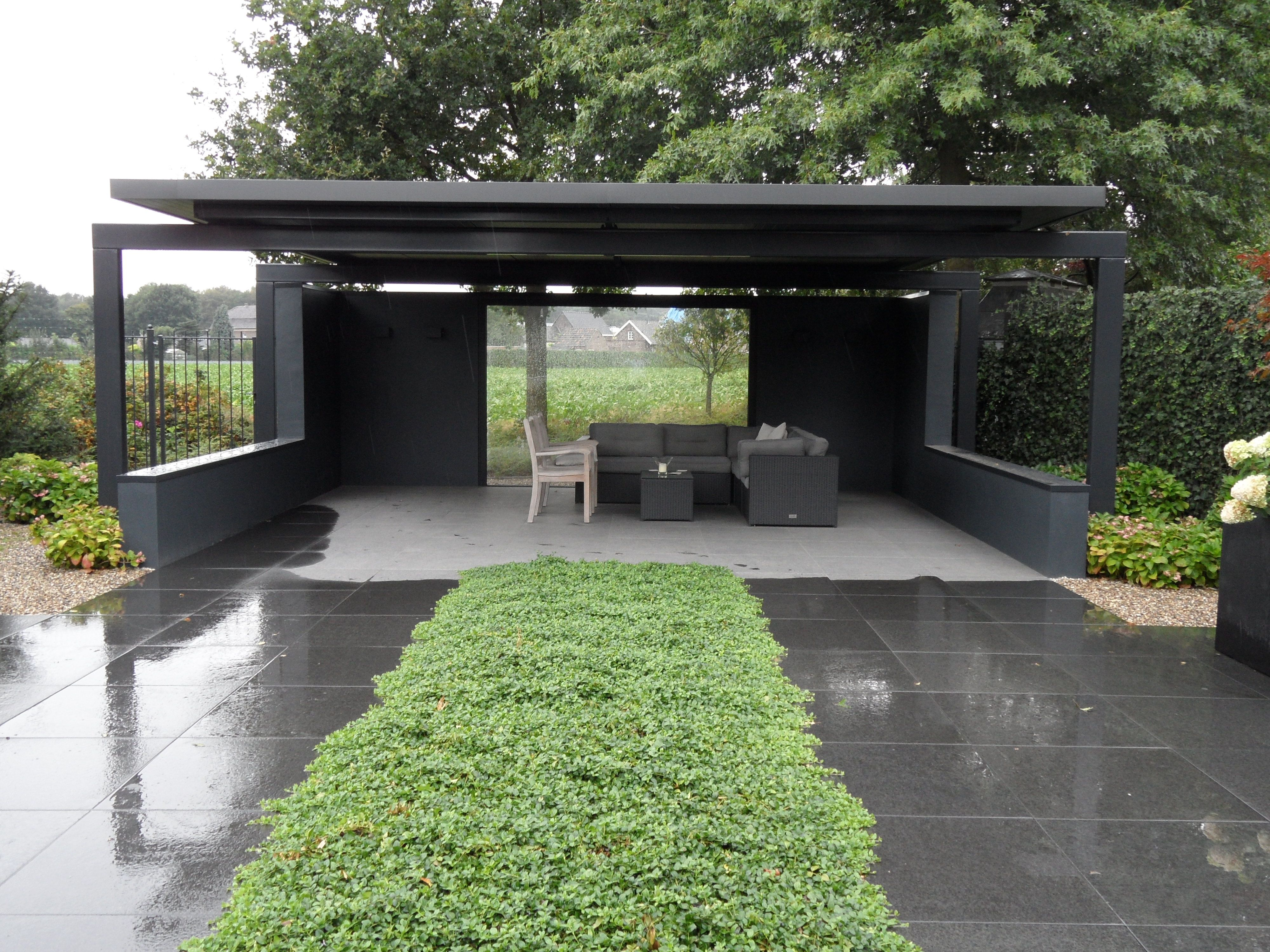 1000 images about metal pergolas on pinterest - Modern prieel aluminium ...