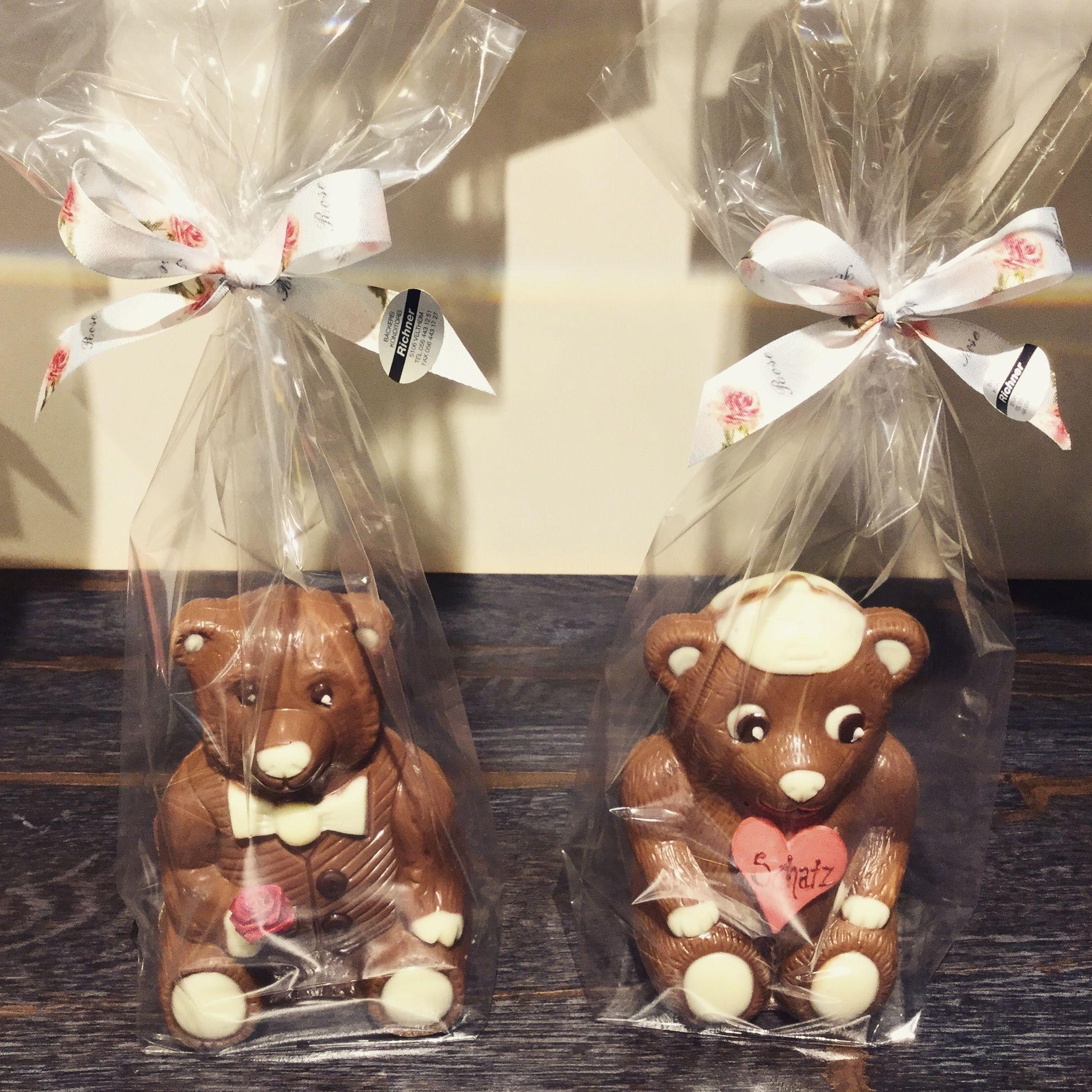 Süsse Schoggi-Bären🐻🐾❤   #schoggi #bär #love #valentinstag ...