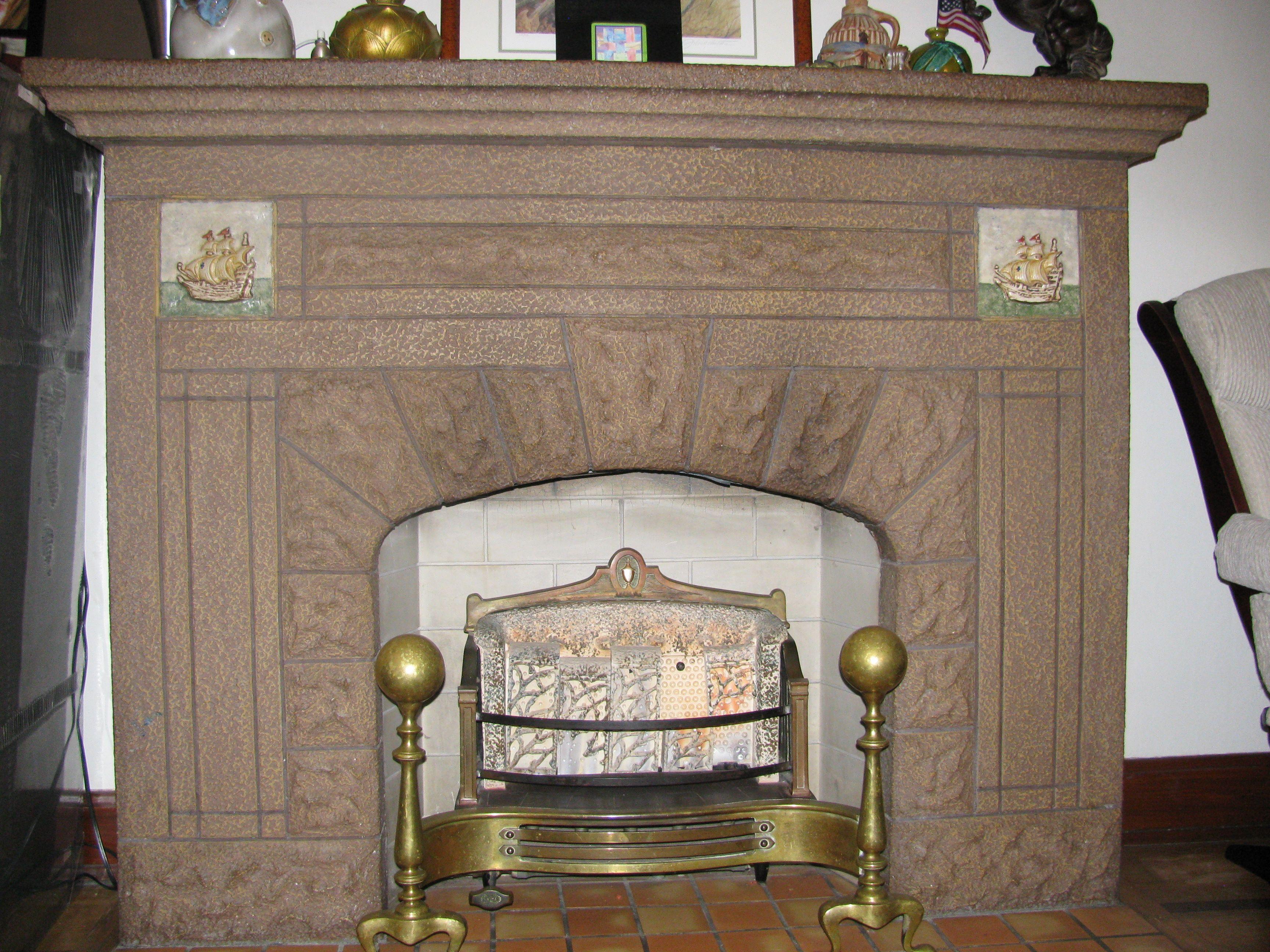 1930s Fireplace 3456 x 2592