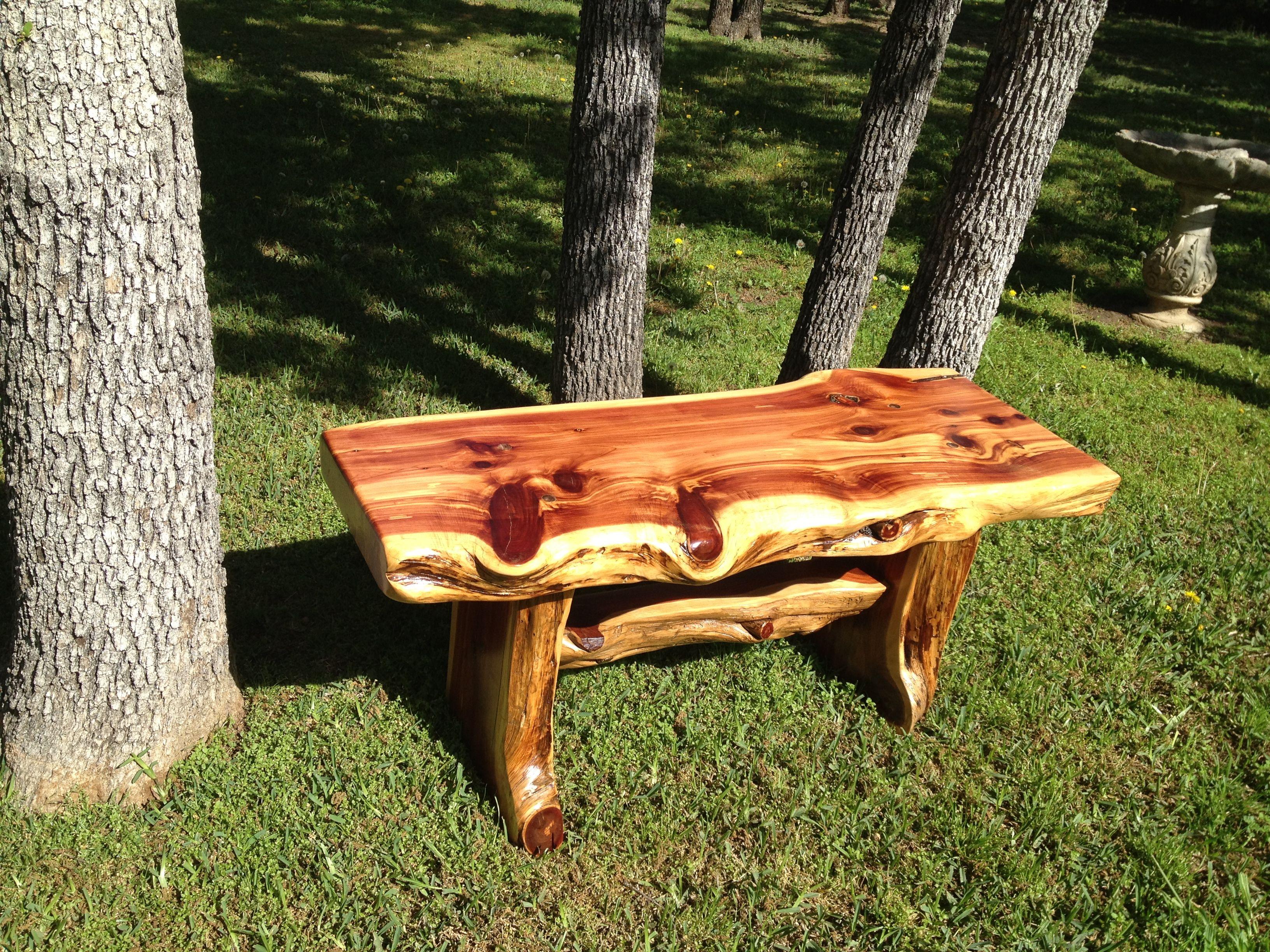 Cedar Bench Handmade In Texas Home Sweet Home Pinterest