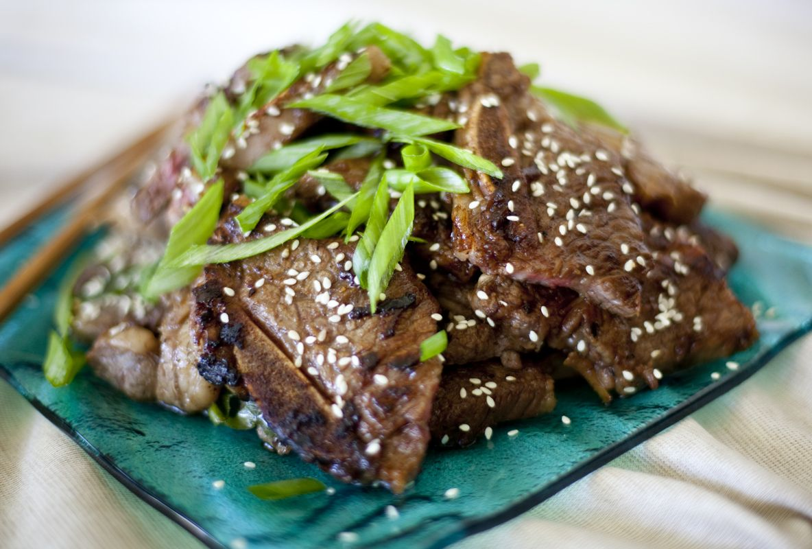 Korean-style short ribs (Kalbi) | Magically Delicious! | Pinterest