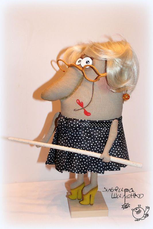 Как сделать прикольную куклу своими руками