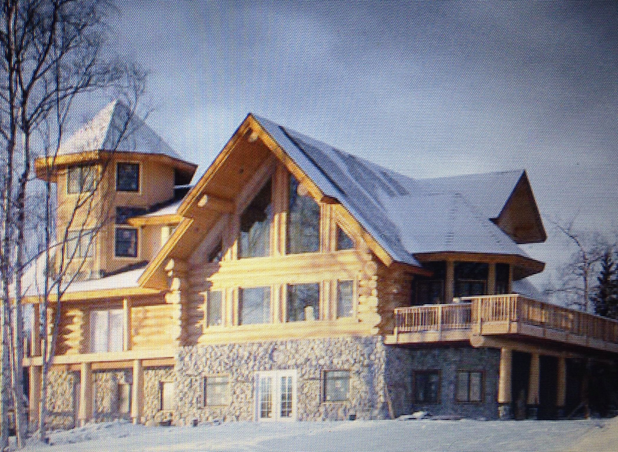 Log Cabin Dream Homes Pinterest Return To Meanwhile On My