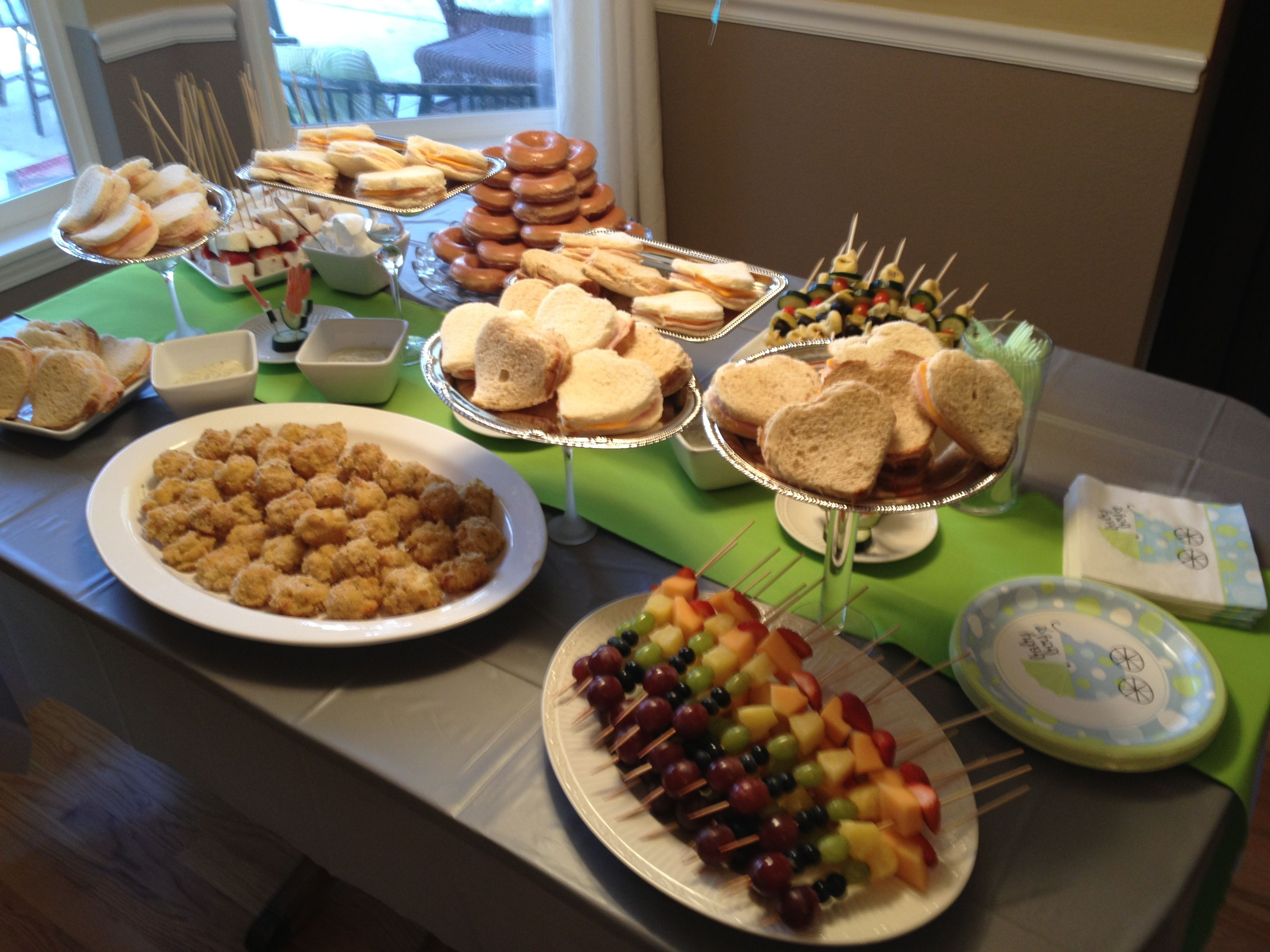 Meals For Baby Showers ~ Baby shower food table l c weddings events serenity