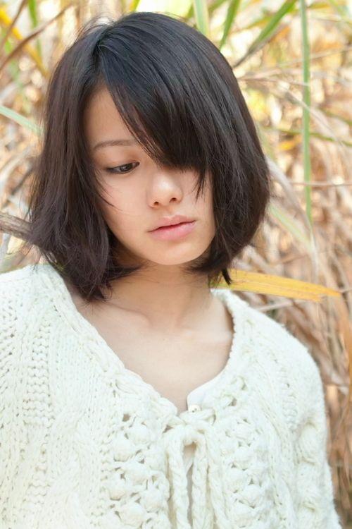山本舞香 前髪