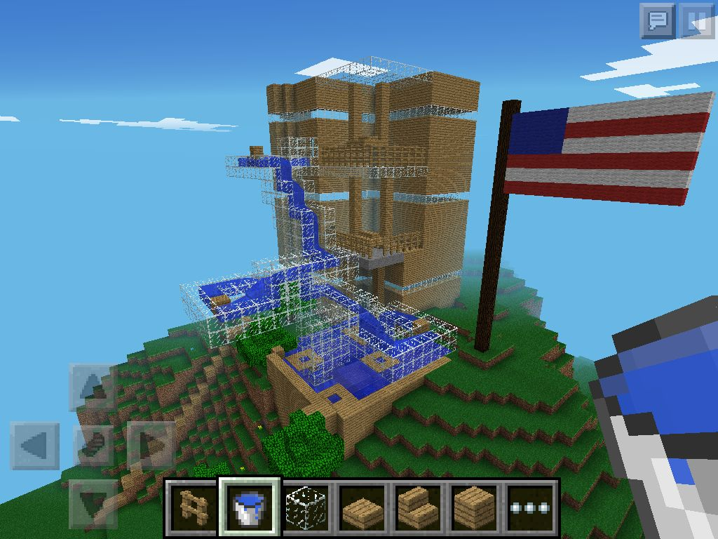Awesome Minecraft Three Story House