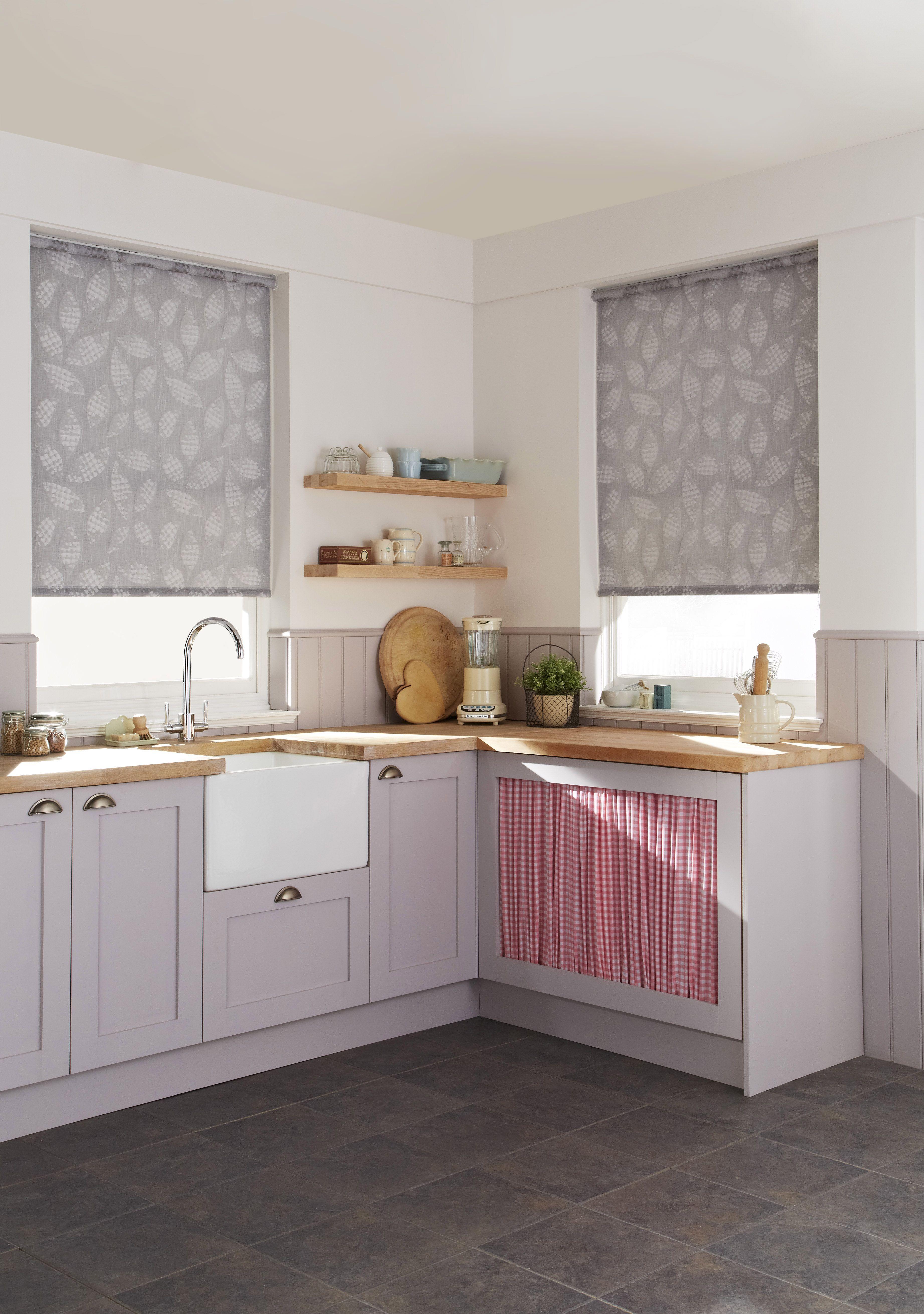 Http://media Cache Ak0.pinimg.com/originals/59/2e/57/592e57437c3e3a390af4da786b65de38  | Kitchen | Pinterest | Grey Roller Blinds, Light Grey Kitchens ...