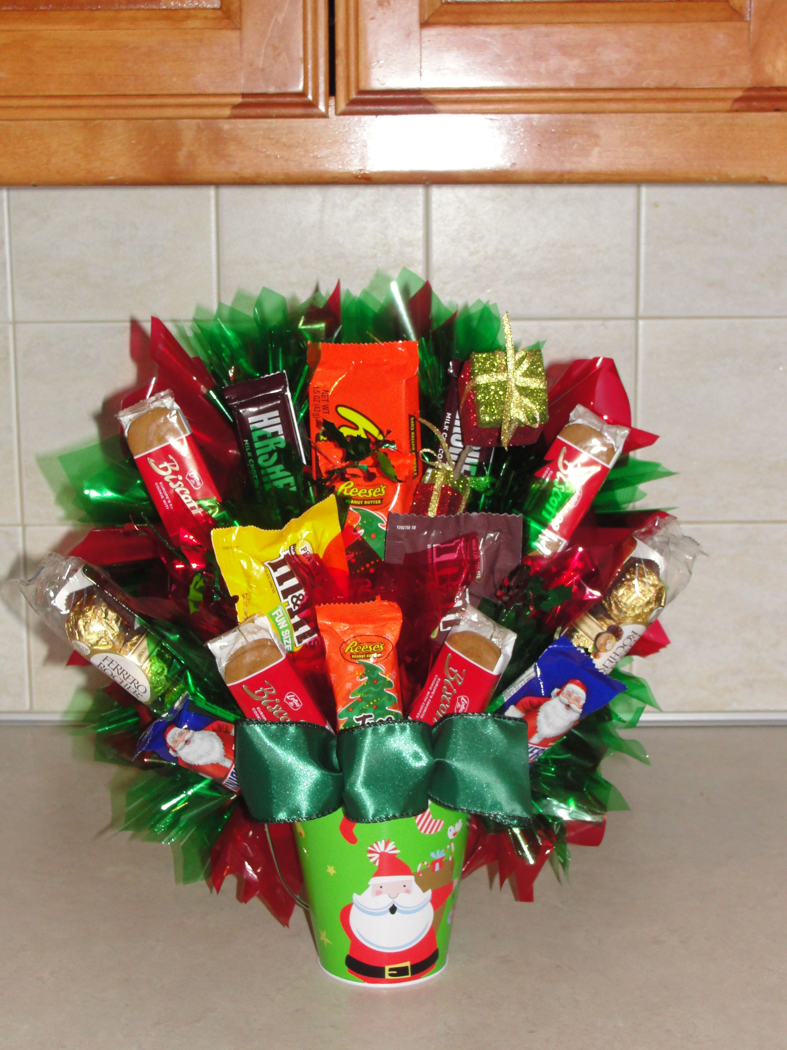 Christmas   Candy Bouquets   Pinterest