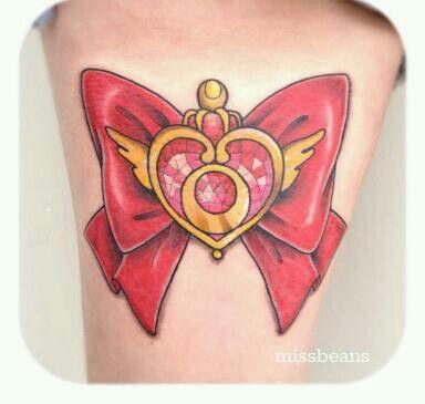 sailor moon bow tattoo  Sailor Moons