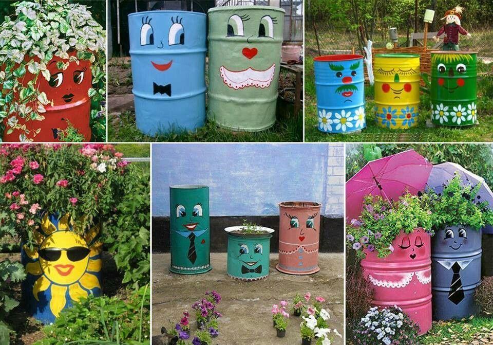 garden arts amp crafts pinterest